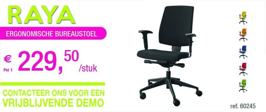 INO ergonomische bureaustoel RAYA