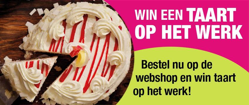 Win een taart op het werk!