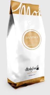 Mokafina Da Vinci gemalen koffie, pak van 1 kg, sterkte van 8