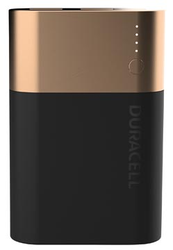 Duracell Powerbank, 10050 mAh, zwart - koper, 1 stuk