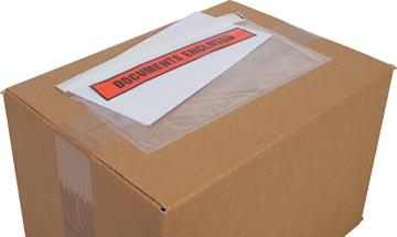 Cleverpack documenthouder Documents Enclosed, ft 230 x 112 mm, pak van 100 stuks