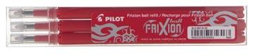 Pilot Vullingen voor Frixion Ball en Frixion Click rood