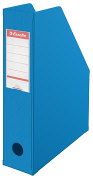 Esselte VIVIDA tijdschriftencassette, ft A4, karton, blauw