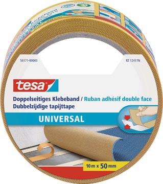 Tesa dubbelzijdige tapijttape ft 50 mm x 10 m
