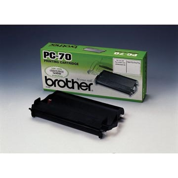Brother transferrol met cassette, 140 pagina's, OEM PC70