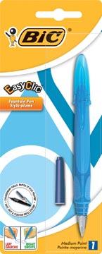 Bic vulpen EasyClic geassorteerde kleuren, op blister