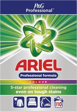 Ariel waspoeder, voor gekleurde was, 110 wasbeurten, doos van 7,15 kg