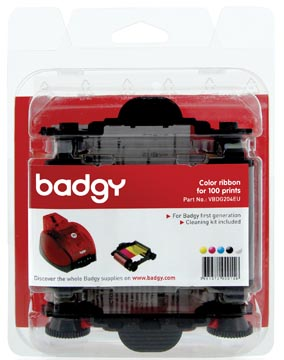 Badgy kleurenlint voor Badgy1, 100 afdrukken