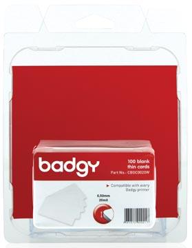 Badgy 100 blanco, dunne kaarten van 0,5 mm voor Badgy100 of Badgy200