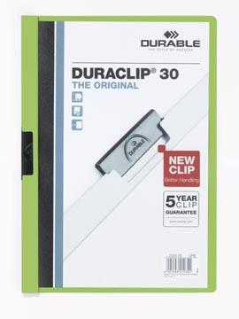 Durable klemmap Duraclip Original 30 groen