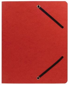 Class'ex elastomap, ft 23,5 x 31 cm (voor ft A4), rood