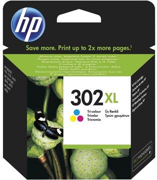 HP inktcartridge 302XL, 330 pagina's, OEM F6U67AE, 3 kleuren