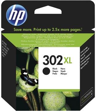 HP inktcartridge 302XL, 480 pagina's, OEM F6U68AE, zwart