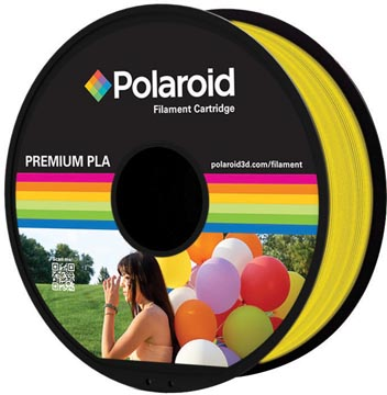 Polaroid 3D Universal Premium PLA filament, 1 kg, geel