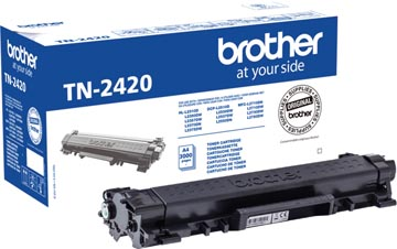 Brother toner, 3.000 pagina's, OEM TN-2420, zwart