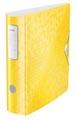 Leitz WOW ordner Active rug van 8,2 cm, geel