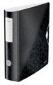 Leitz WOW classeur à levier Active, dos de 8,2 cm, noir