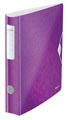 Leitz WOW ordner Active rug van 6,5 cm, paars