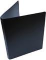 Alpha classeur à anneaux, pour ft A4, en PP, 4 anneaux de 16 mm, noir