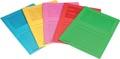 Pergamy L-map met venster, pak van 100 stuks, in geassorteerde felle kleuren