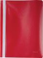 Pergamy snelhechtmap, ft A4, PP, pak van 25 stuks, rood